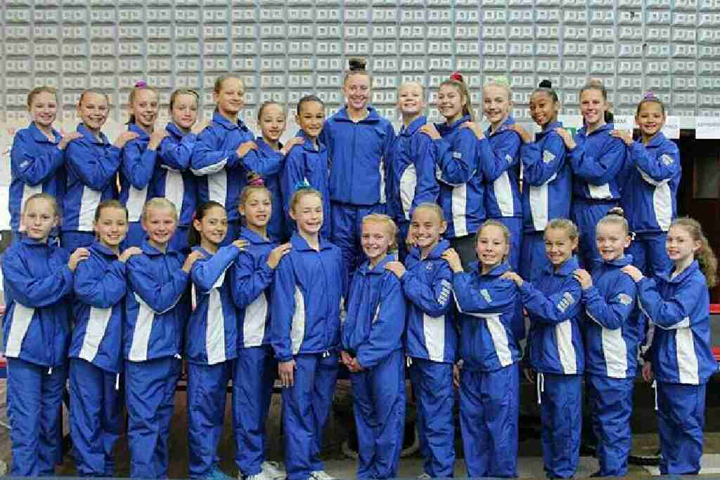 Wynland Gymnastics Group Photo