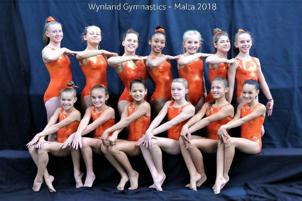Wynland Gymnastics in Malta International Competitions 2018