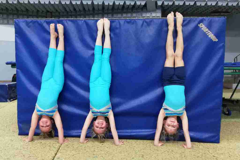 Handstands Skills in Gymnastics