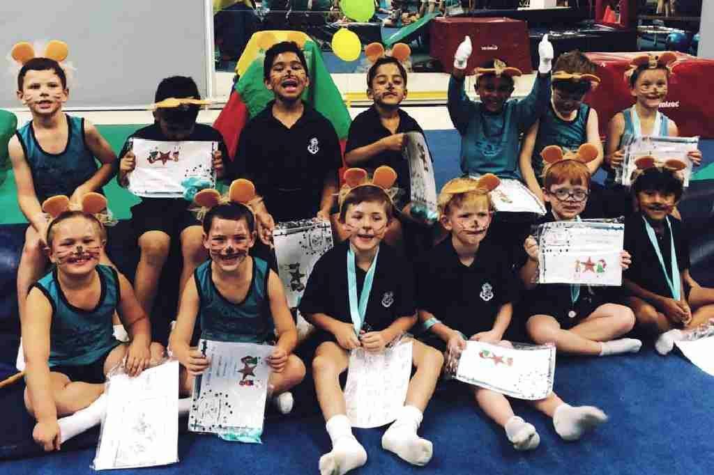 Wynland Gymnastics kidi-gym-gymnast-prize-giving