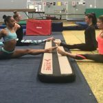 Wynland Gymnastics Training Session