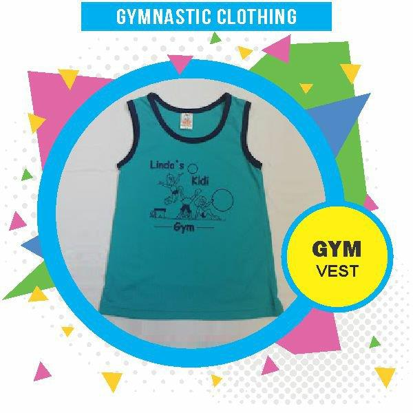 Wynland Kidi Gym Clothing Boys Gym Vest