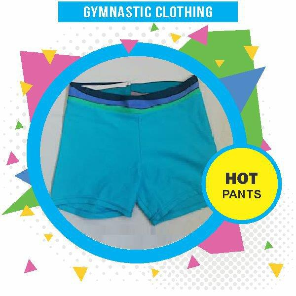 Wynland Kidi Gymnastics Clothing Girls Hot Pants