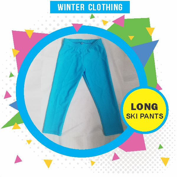 Wynland Kidi Gymnastics Winter Clothing Long Ski Pants