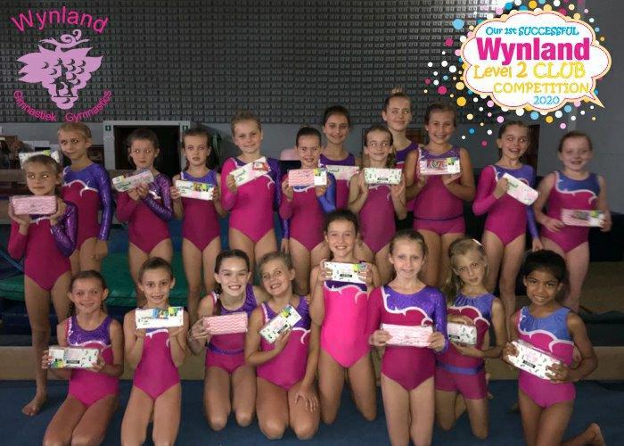 Wynland Gymnastics Level 2 Club Competitions 2020