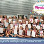 Wynland Pre-level girls completed their first bronze medal testing. They were tested on strength, flexibility and skills. Seeing forward to our next Silver medal testing. Highest testing mark achieved 97%. Well done!