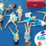 Wynland Kidi-Gym Gymnasts were asked to bring along their favourite soft toy to join in the gymnastics fun.