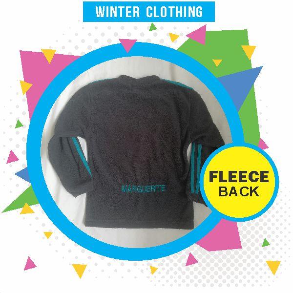 Wynland Kidi Gymnastics Winter Clothing Fleece Back
