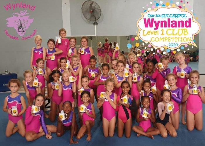 Wynland Gymnastics Level 1 Club Competitions 2020